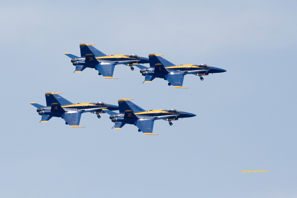 Blue Angels Geardown