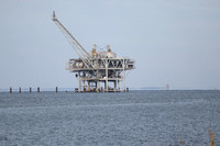 Natural Gas Platform on Mobile Bay