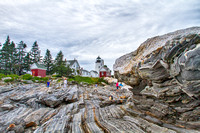 ME - Pemaquid Point Lighthouse  Rocks